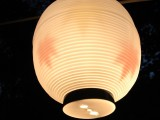 紅葉柄の提灯