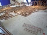 ポンペイ遺跡のジオラマ