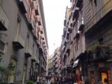 ナポリの繁華街