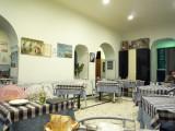 晩飯は日本人もよく訪れるBergantino。